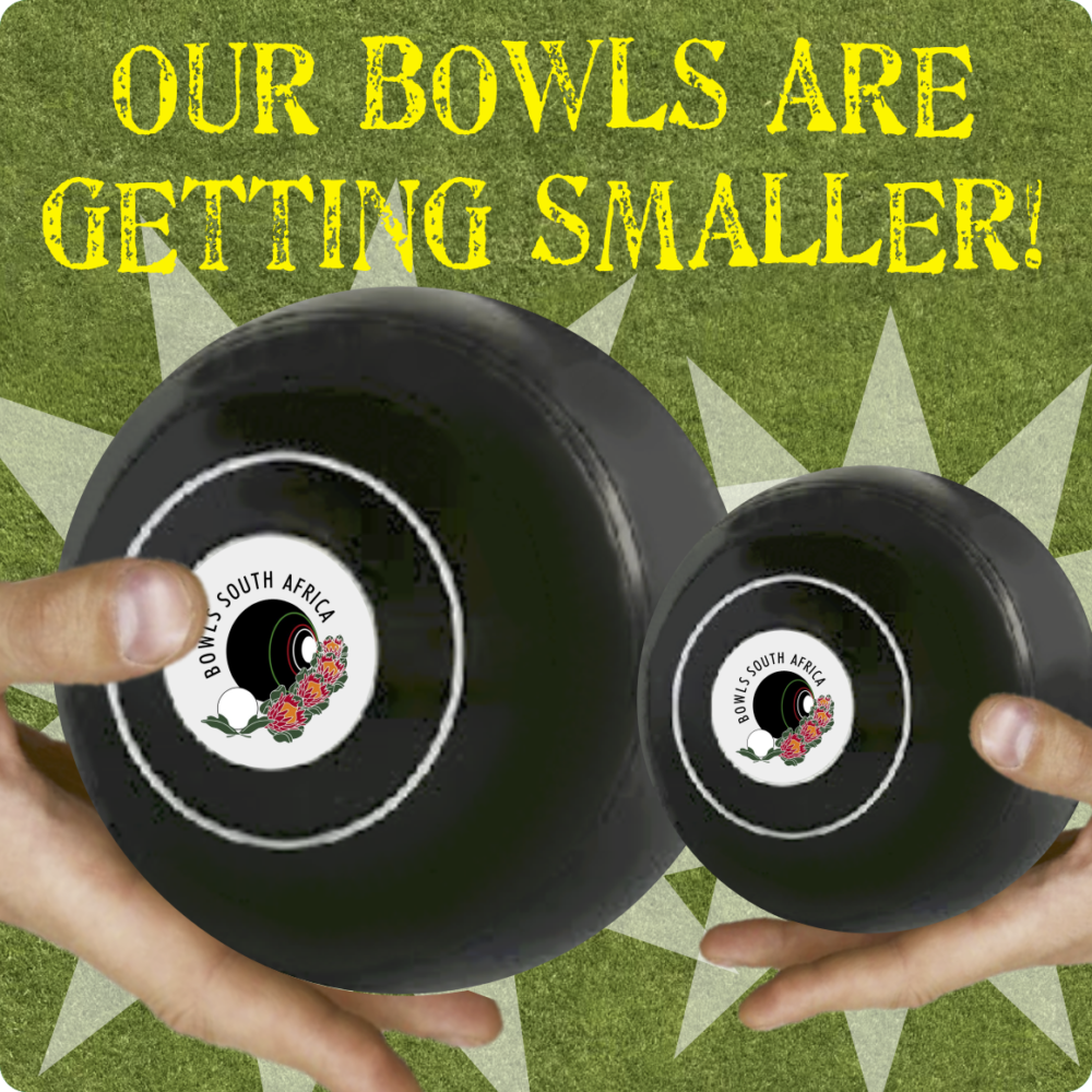Our bowls are getting smaller!