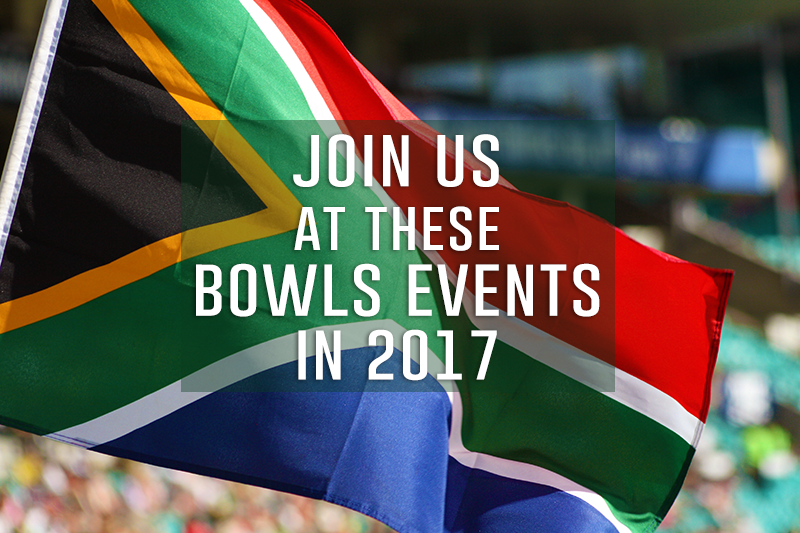 Join us at these major bowls events in SA this year!